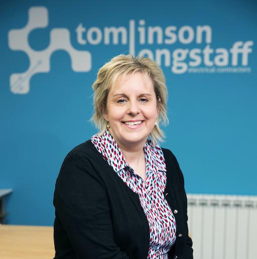 Alicia Reid managing Director, Tomlinson Longstaff Electrical Contractors of West Auckland County Durham. Photo John Millard/UNP