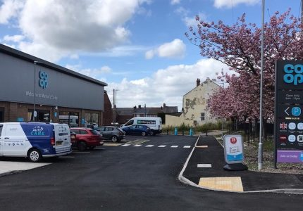 External Electrical Supply Installation for a new Co-op Store in Seaham