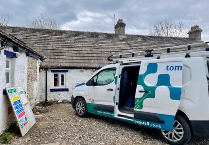 Tomlinson Longstaff van at The Scar on Raby Estates