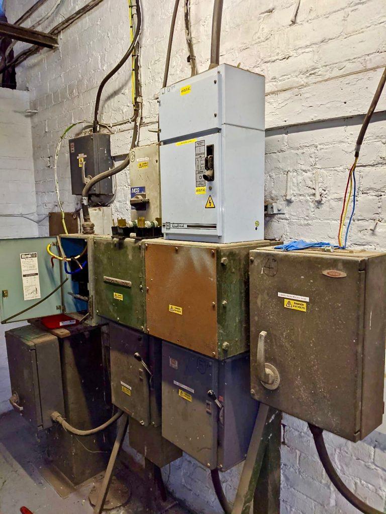 Old electrics at J.Mitchinson Ltd