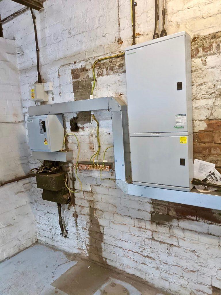 Electrical Upgrade at J.Mitchinson Ltd