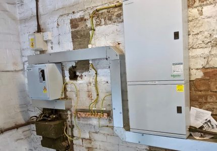 Electrical Upgrade at J.Mitchinson Ltd, Evenwood