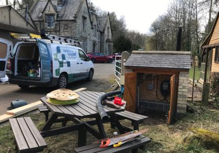 Hollin Applications Ltd, Wolsingham – EV Charge point installation