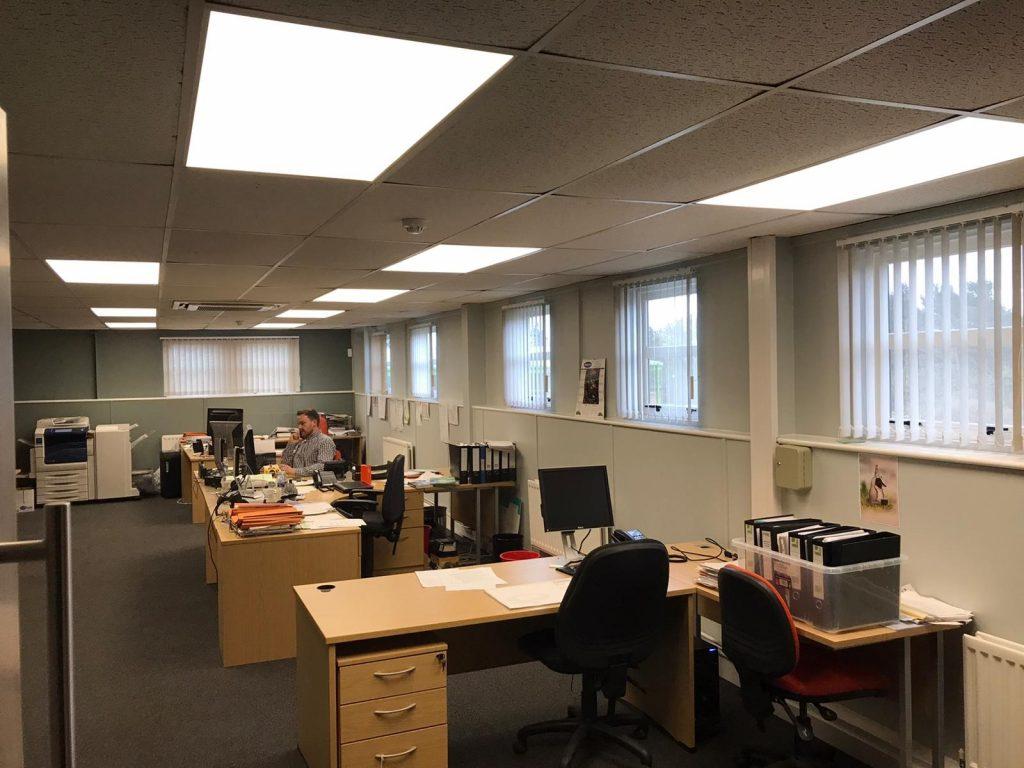 St. Astier Ltd., Seaham – LED lighting upgrade