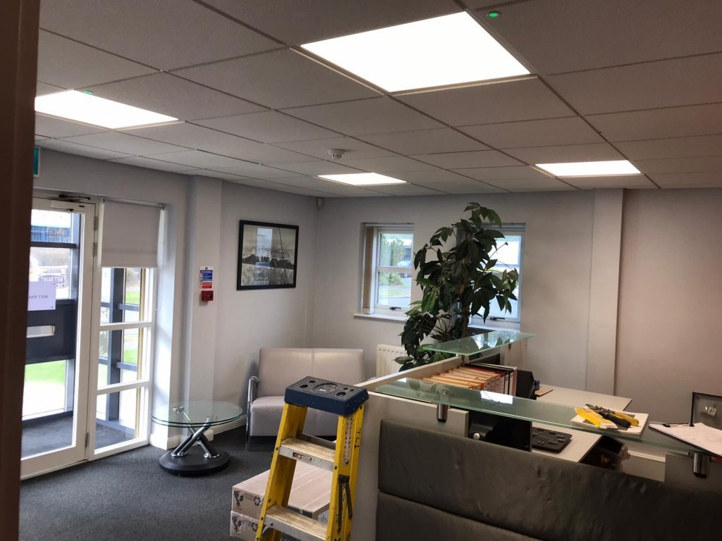 St. Astier Ltd., Seaham – upgrade to LED lighting