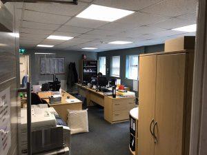LED office lighting upgrade - St. Astier Ltd.